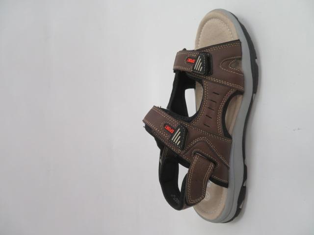 Sandały Męskie H6902-2, Brown, 41-46