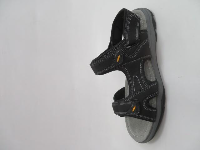 Sandały Męskie H6903-3, Black, 41-46