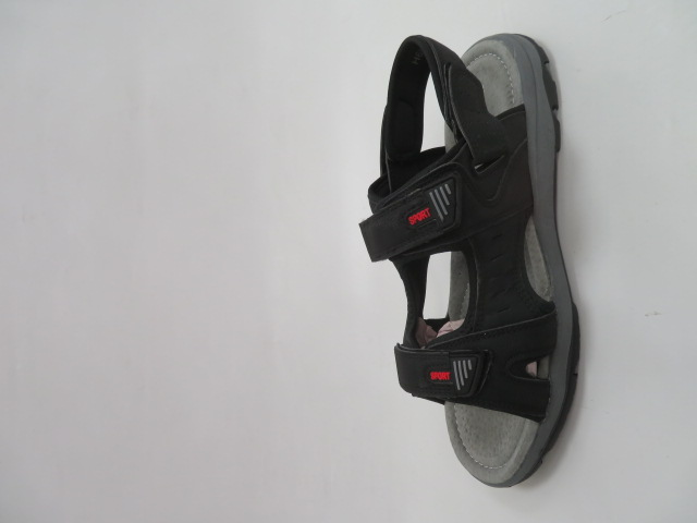 Sandały Męskie H6902-1, Black, 41-46