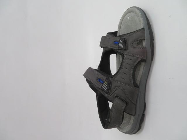 Sandały Męskie H6902-5, D.Grey, 41-46