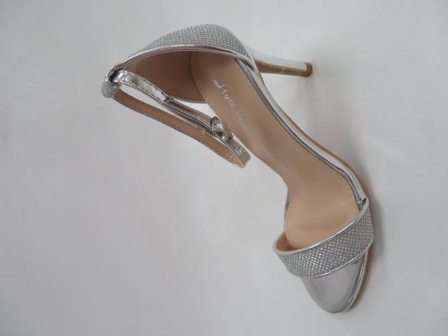 Sandały Damskie 6921, Silver, 36-41