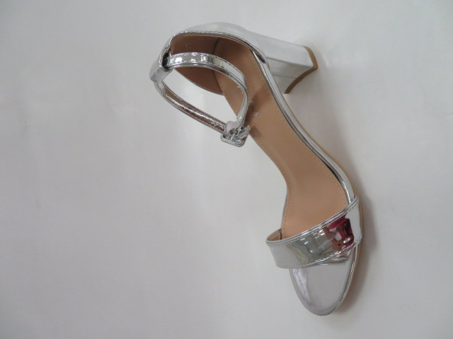 Sandały Damskie 6906, Silver, 36-41