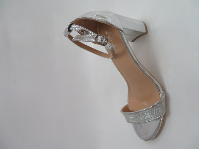 Sandały Damskie 6866, Silver, 36-41
