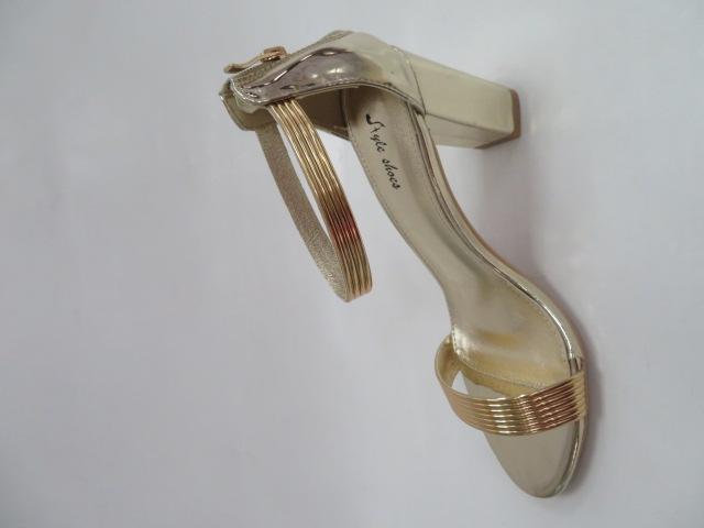 Sandały Damskie 6716, Gold, 36-41