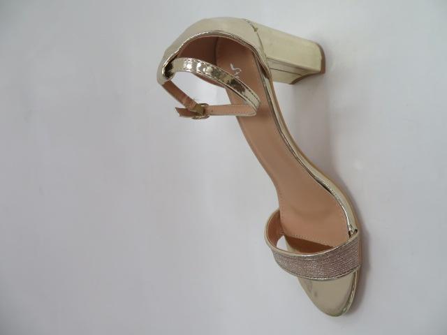 Sandały Damskie 6866, Gold, 36-41