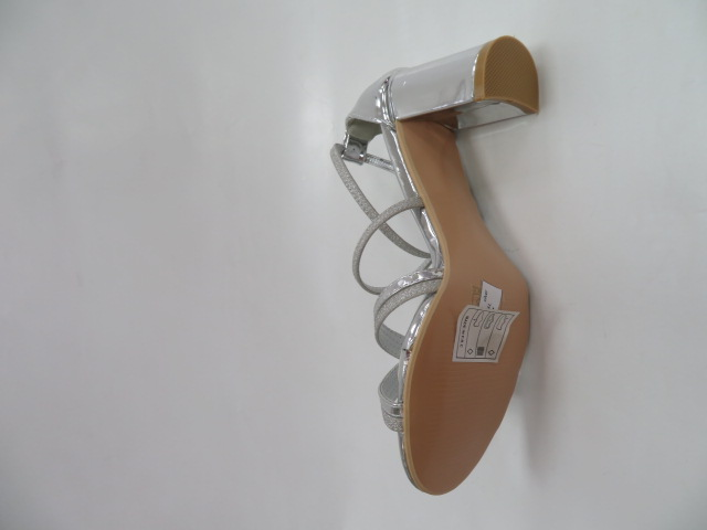Sandały Damskie 6916, Silver, 36-41