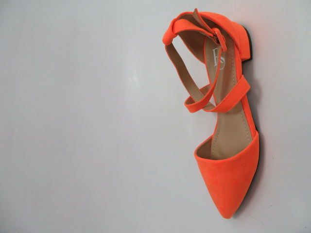 Baleriny Damskie JX-210, Orange, 36-41