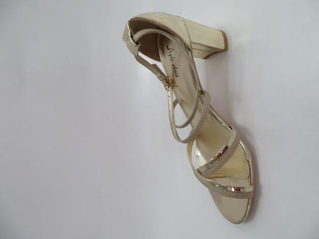 Sandały Damskie 6916, Gold, 36-41