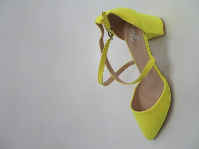 Czółenka Damskie JX-211, Flore/Yellow , 36-41