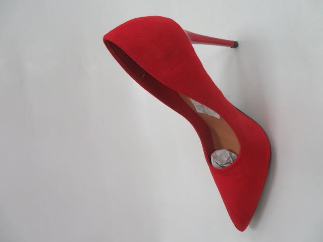 Szpilki Damskie QL113, Red, 36-41