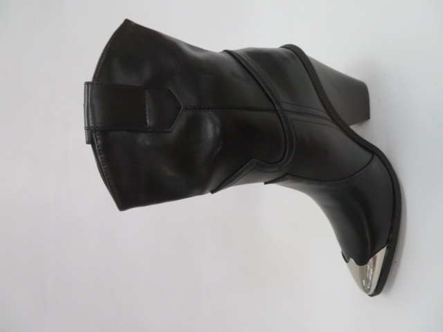 Botki Damskie C125A, Black, 36-41 4