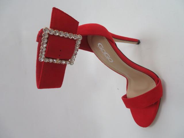 Sandały Damskie K360, Red, 36-41