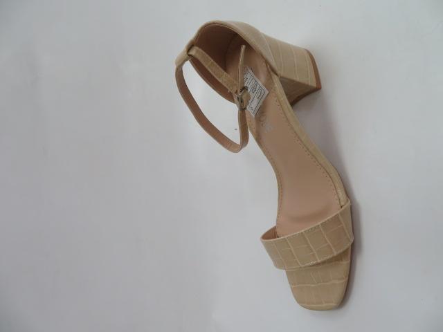 Sandały Damskie QL168, Beige, 36-41
