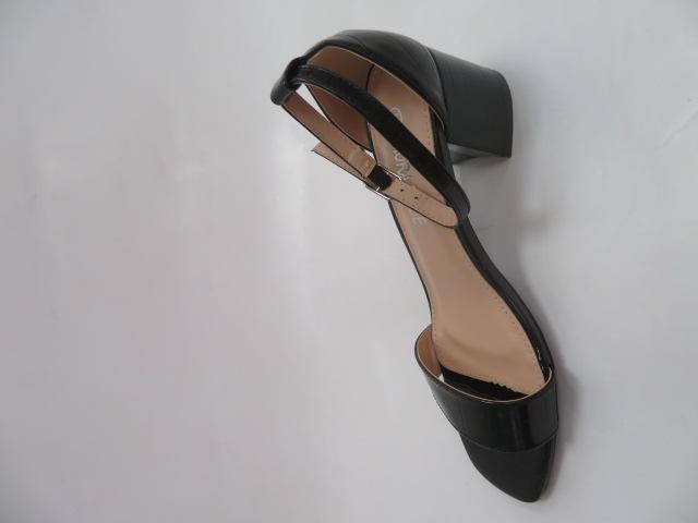 Sandały Damskie QL168, Black, 36-41