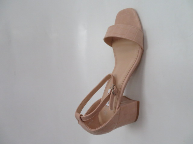 Sandały Damskie QL168, Pink, 36-41