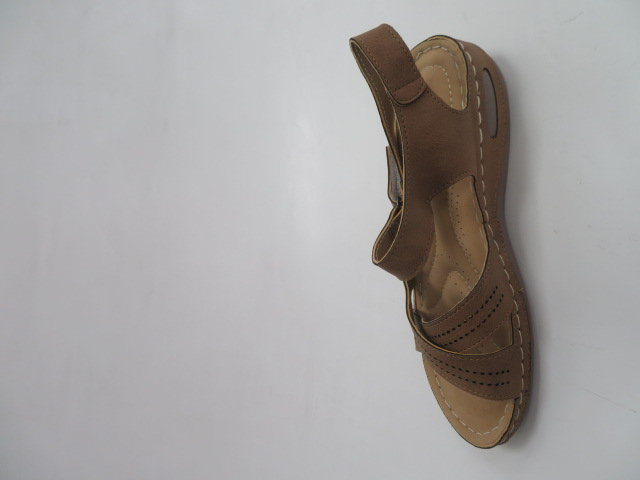 Sandały Damskie D-80, Khaki, 36-41