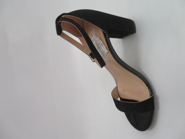 Sandały Damskie QL-163, Black, 36-41