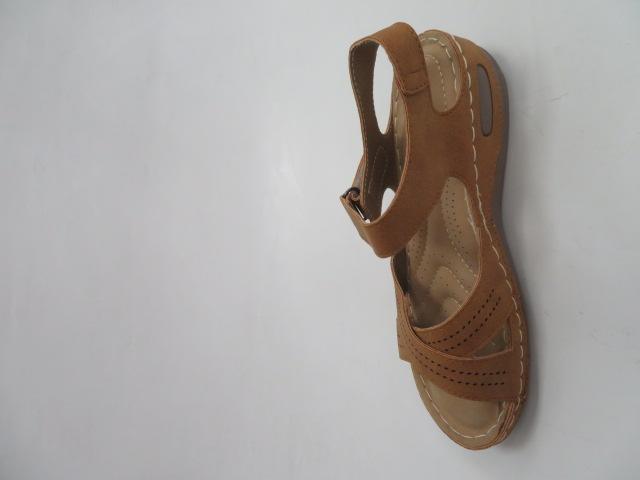 Sandały Damskie D-80, Camel, 36-41