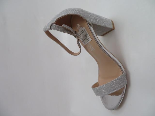 Sandały Damskie QL-163, Silver, 36-41