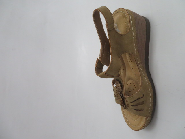 Sandały Damskie D-82, Khaki, 36-41