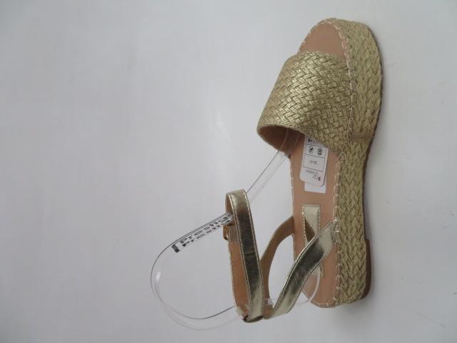 Sandały Damskie ZZ-10, Gold, 36-41