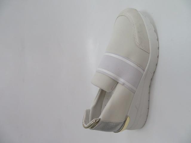 Sportowe Damskie 2902, White, 36-41