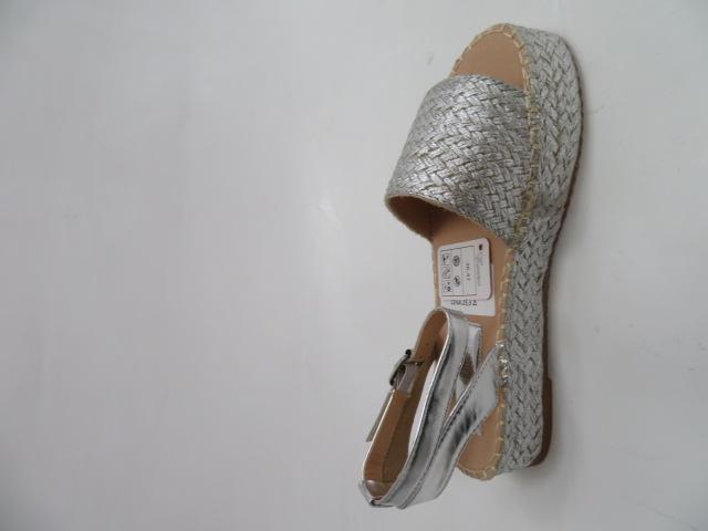 Sandały Damskie ZZ-10, Silver, 36-41