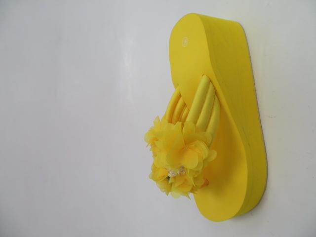Klapki Damskie A-86, Yellow , 36-41