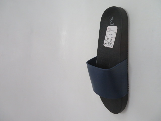 Klapki Damskie LS-37, Black/Blue , 36-41 2