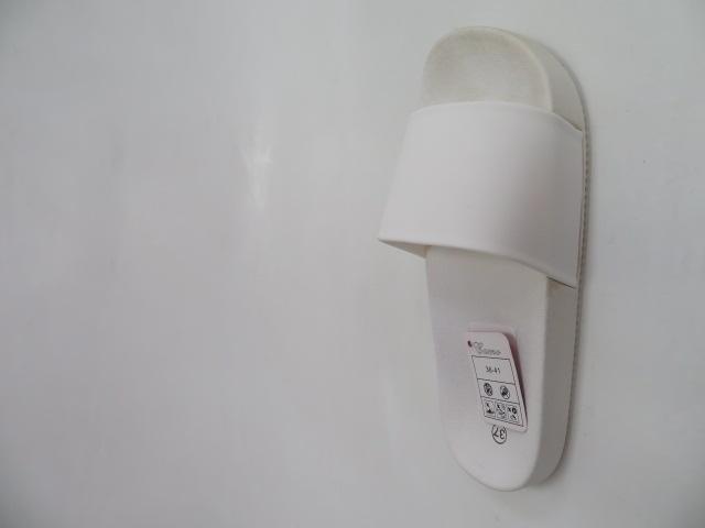 Klapki Damskie LS-37, White , 36-41