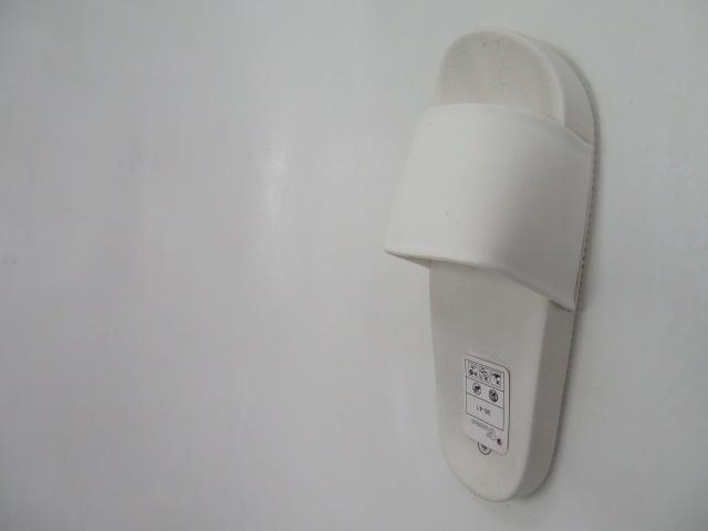 Klapki Damskie 6123, White , 36-41