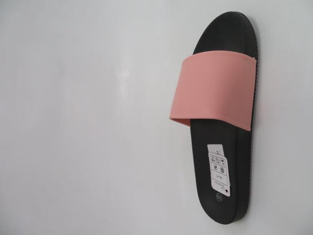 Klapki Damskie LS-37, Black/Pink , 36-41 2