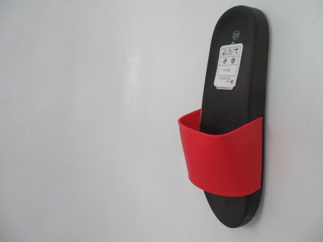 Klapki Damskie LS-37, Black/Red, 36-41 3