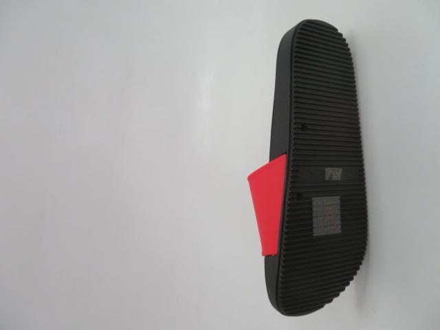 Klapki Damskie LS-37, Black/Red, 36-41
