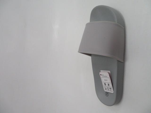 Klapki Damskie 6123, Grey , 36-41