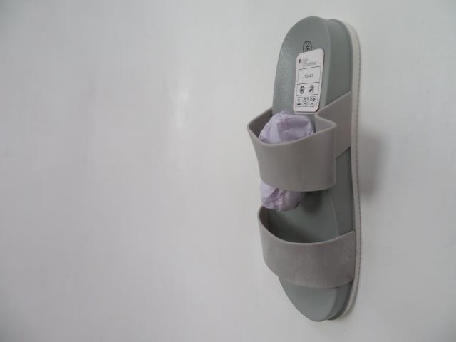 Klapki Damskie  6108, Grey, 36-41