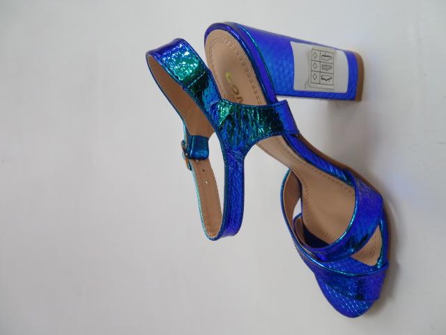 Sandały Damskie A40, Blue , 36-41