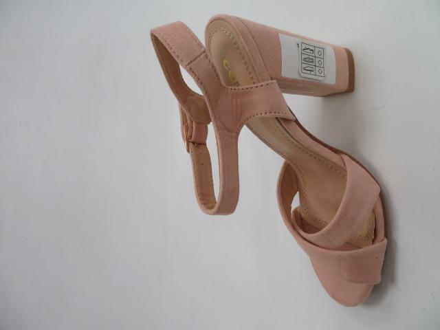 Sandały Damskie A40 , Pink, 36-41