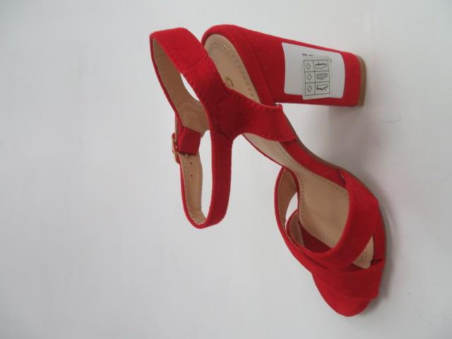 Sandały Damskie A40 , Red, 36-41
