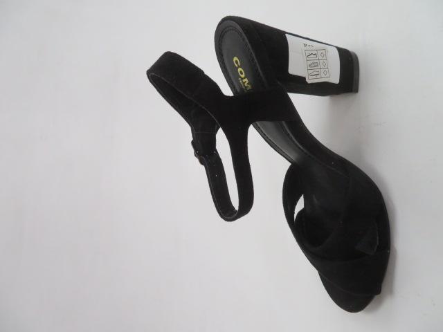 Sandały Damskie A40 , Black, 36-41