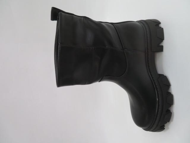 Botki Damskie 8388, Black, 36-41 2