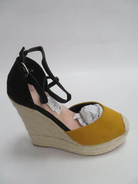 Czółenka Damskie N19-513, Yellow, 36-41