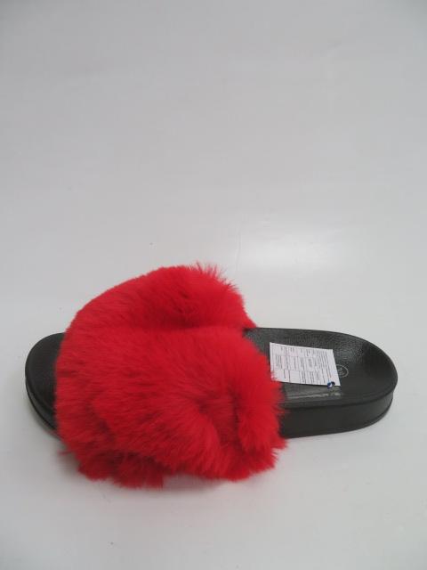Klapki Damskie LE-398, Red , 36-41