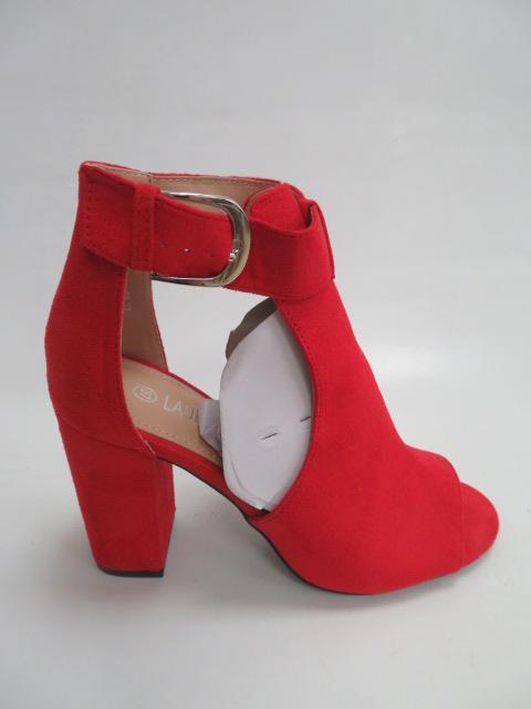 Czółenka Damskie QL-97, Red, 36-41
