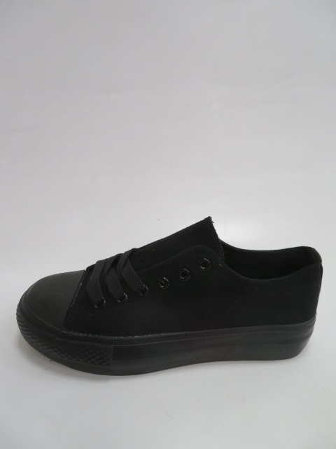 Trampki Damskie XL33, All black , 36-41
