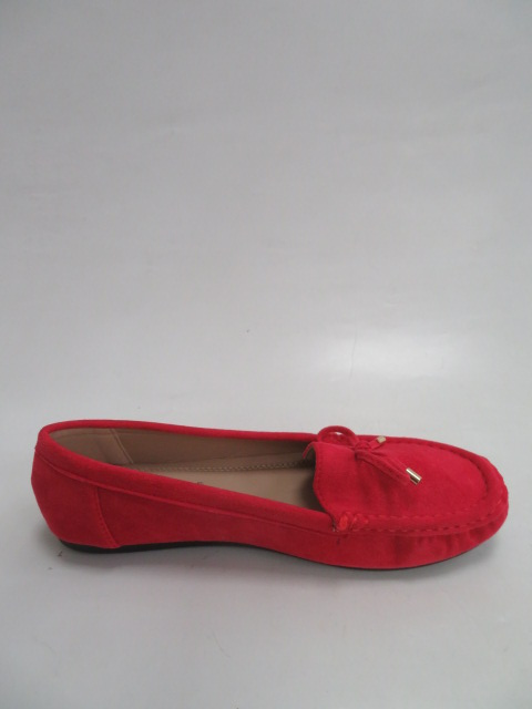 Baleriny Damskie CD75, Red, 36-41
