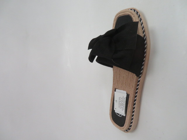 Klapki Damskie 558, Black, 36-41