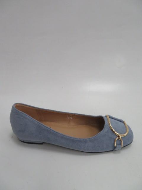Baleriny Damskie LK47, Blue , 36-41