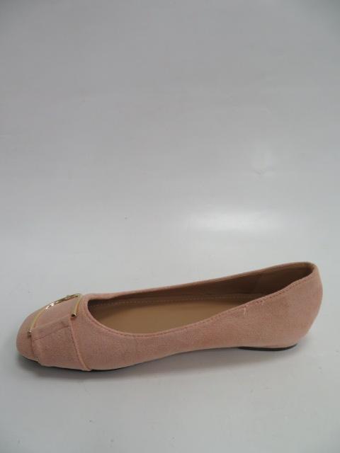 Baleriny Damskie LK47 , Pink, 36-41