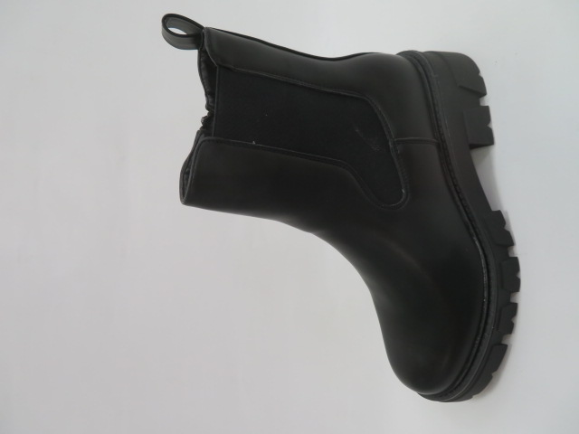 Botki Damskie NC1167, Black, 36-41